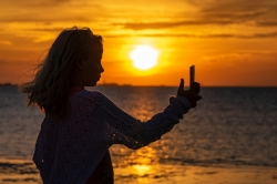 Photoshop Contest - Sunset Selfie (1 Entry)