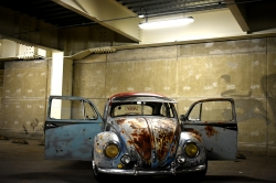 Photoshop Contest - rusty vw (1 Entry)