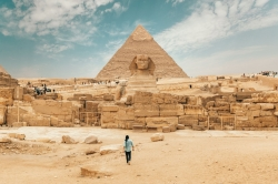 Photoshop Contest - pyramid and sphinx (3 Entries)