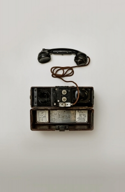 Old army radio
